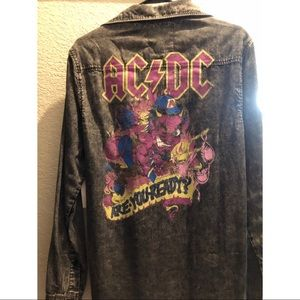 AC/DC Denim Shirt M